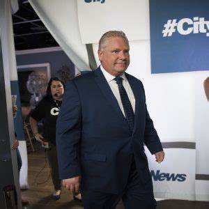 Doug Ford before his party confirmed a candidate hired ...