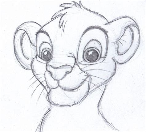 The Lion King One Of My Favorite Movies Drawing