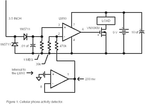 Improved Cell Phone Detection Circuit Space Between