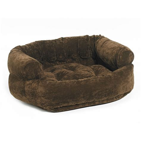orthopedic pet bed with bolster bowsers platinum collection donut bed