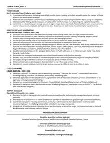managing director cv resume executive managing director resume