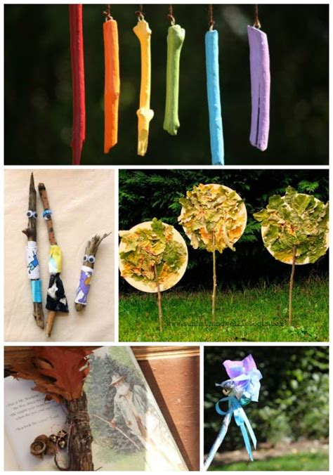 gorgeous nature crafts  kids edventures  kids