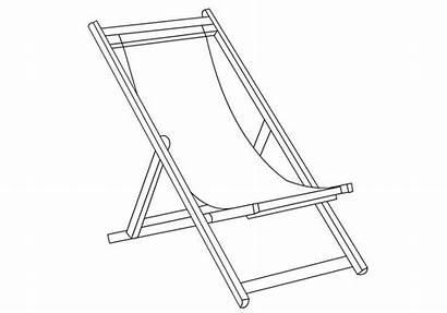 Chair Cadeira Colorare Disegno Disegni Sedia Praia