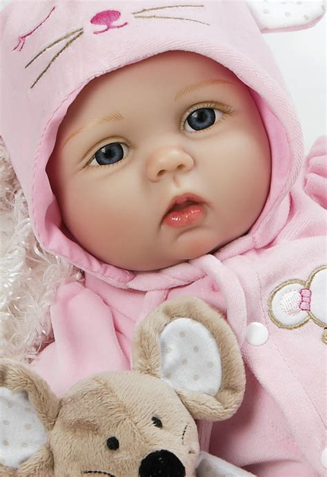 baby doll that looks real mia mouse 21 inch silicone