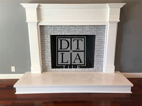 Huntington Beach Fireplace-downtown Los Angeles Tile