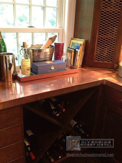 custom bar tops for sale copper counter top with liquor bottles look riverside