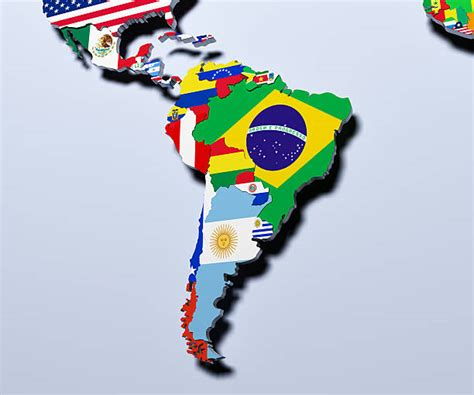top  latin america map stock  pictures
