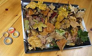 Blätter Basteln Herbst : in herbst basteln mit kindern die bl tter k nstlerwand ~ Lizthompson.info Haus und Dekorationen