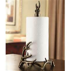 antler paper towel holder spi home deer and moose 4146