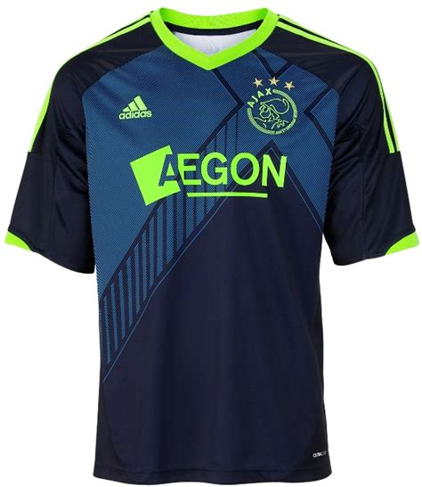 jersey ajax away new ajax away kit 12 13 adidas blue ajax amsterdam away