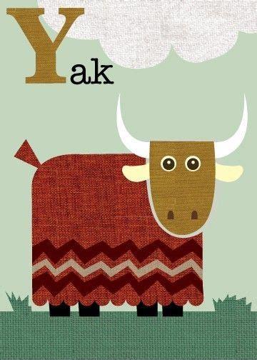 Animal Alphabet Letter Y Yak Craft
