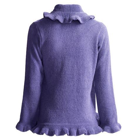 softies by paddi murphy ruffle bed jacket for women