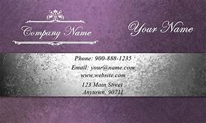 Purple event planning business card design 2301201 for Event planning business cards