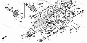 Honda Side By Side 2014 Oem Parts Diagram For Front