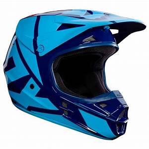 Equipement Moto Cross Destockage : casque cross fox destockage v1 race bleu marine 2017 ~ Dailycaller-alerts.com Idées de Décoration