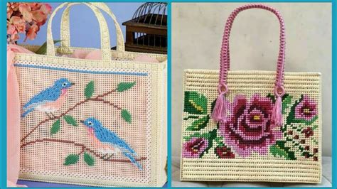 latest cross stitch bags design cross stitch clutch