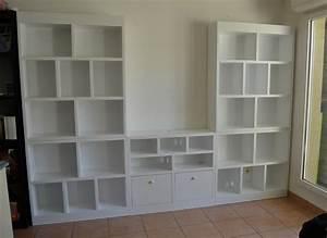 Meuble TV Bibliothque Meubles En Carton Angers