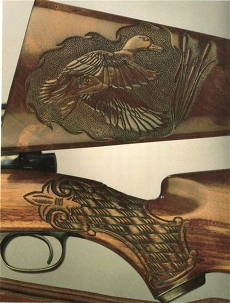 images  gunstock carving  pinterest