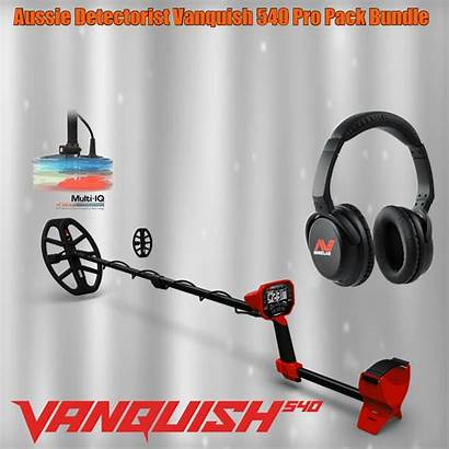 Metal Detector Minelab Frequency Multi Vanquish Detecting