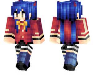 Anime Girl Minecraft Skins Pe
