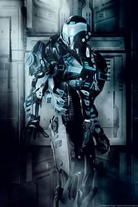 Cyberpunk guard | Final Media Project | Pinterest | Armors ...