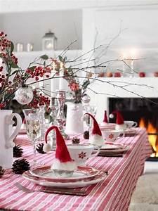 Decoration De Noel Table : des id es int ressantes pour une d coration table de no l ~ Melissatoandfro.com Idées de Décoration