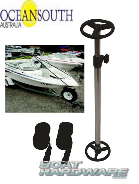 Oceansouth Boat Cover Reviews by Boat Cover Support Pole Kit Straps Adjustable