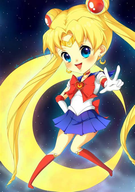 Chibi Sailor Moon by plurain on deviantART | Sailor moon ...