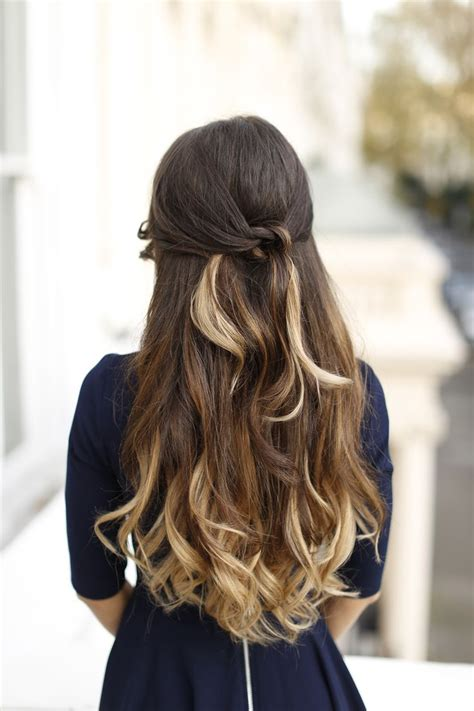 Ombre Blonde T218 20 160g Updo At The Top And