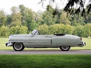 1950 Cadillac Sixty Two Convertible 6267 Luxury Retro V