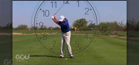 Better Golf Swing by How To Clock Your Wedge For A Better Golf Swing