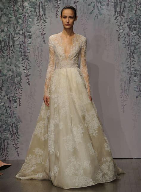 monique lhuillier fall  collection wedding dress