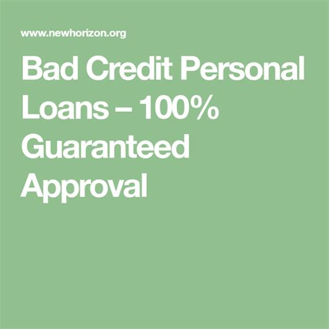 In this post today i will go over which online store cards are best for bad credit and that will pretty much guarantee your approval. Bad Credit Personal Loans - 100% Guaranteed Approval | Loans for bad credit, Fast loans, Short ...