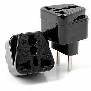 Adaptateur Universel Prise électrique : neuftech 2x adaptateur universel prise electrique pour ~ Edinachiropracticcenter.com Idées de Décoration