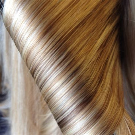 Different Color Brown Hair by Nicely Blended Beautiful Shades Of Hair