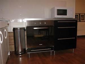 Meuble Pour Plaque De Cuisson Encastrable : meuble cuisine pour plaque de cuisson et four wasuk ~ Premium-room.com Idées de Décoration