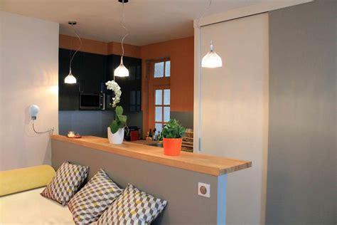 amenagement cuisine studio amenagement petit espace studio dans le quartier du marais