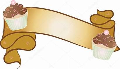Clip Banner Bakery Illustration Element Wit Ribbon