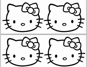 Hello Kitty Black And White Clip Art (62+)