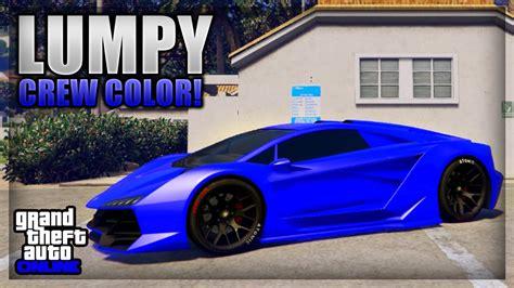 gta 5 crew colors gta 5 modded crew color showcase 6 quot lumpy purple