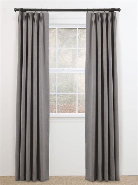 finger euro pleat custom drapery panel innuwindow