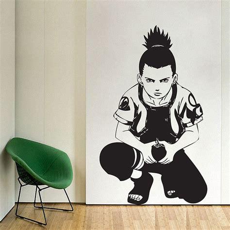 nara shikamaru vinyl wall decal