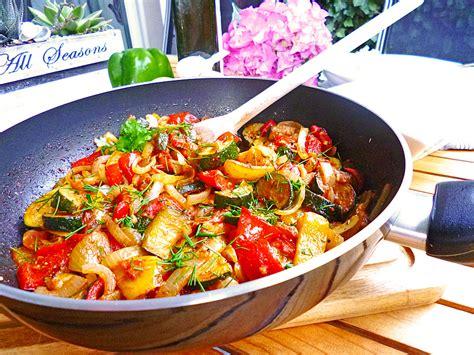 Schnelle Gemüsepfanne Vegetarisch Rezepte | Chefkoch