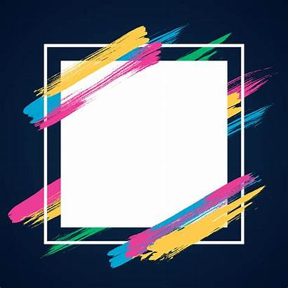Banner Frame Background Modern Abstract Theme Vector
