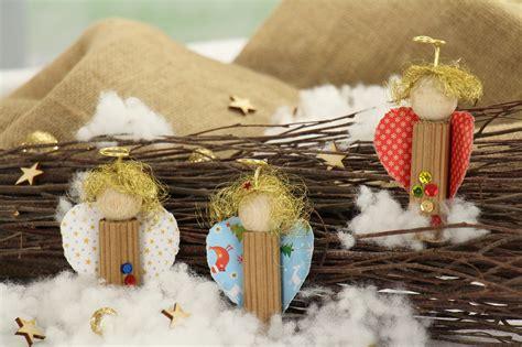Weihnachtsdeko Für Den Gartentisch by Weihnachtsgeschenke Basteln Ideen Engelchen Deko