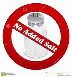 No Added Salt Royalty Free Stock Photo