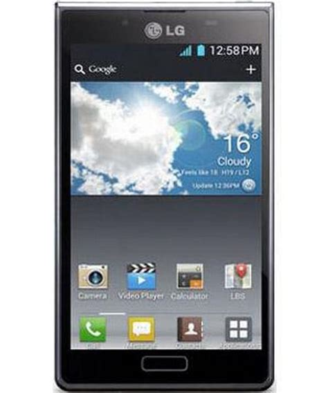 lg optimus black mobile phone price  india specifications