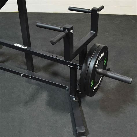chest supported  bar row machine adjustable