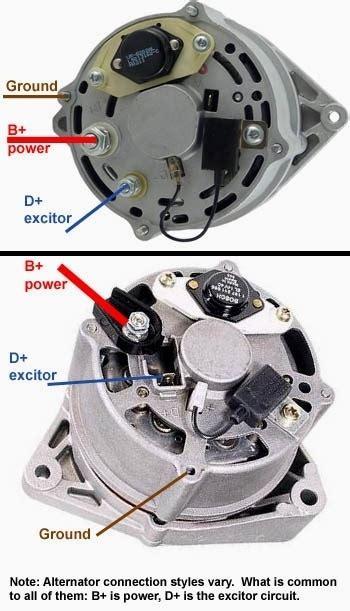 bosch alternator wiring diagram wiring diagram and schematic diagram