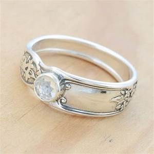 pin by amy gethins sullivan on my hannah needs to see this With spoon wedding rings